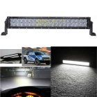 200W 17000lm Dual Row 40-OSRAM LED 5D Optical Lens Light Bar w/ Stand