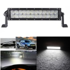 120W 10200lm dupla Row 24 OSRAM LED 5D Lens Light Bar w / Stand
