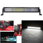 200W 17000lm Dual Row 40-OSRAM LED 5D Lens Combo Light Bar w/ Stand