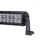120W 10200lm Dual Row 24-OSRAM LED 5D Lens Combo Light Bar w/ Stand