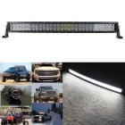 300W 25500lm Dual Row 60-OSRAM LED 5D Lens Combo Light Bar w/ Stand