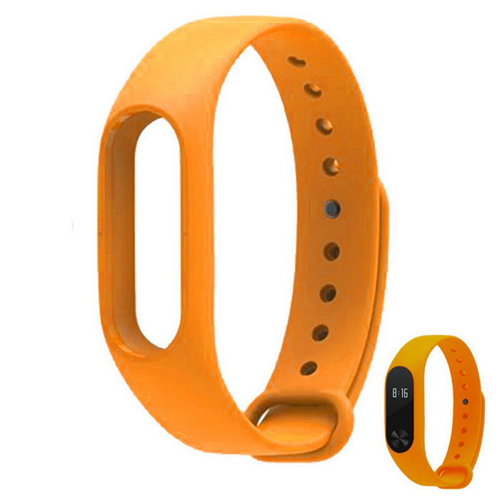 Replacement TPU Wrist Band for Xiaomi MI Band 2 - OrangeWearable Device Accessories<br>Form ColorOrangeQuantity1 DX.PCM.Model.AttributeModel.UnitMaterialTPUPacking List1 * Wrist band<br>