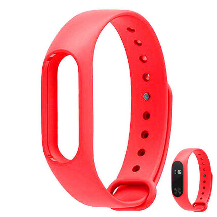 Replacement TPU Wrist Band for Xiaomi MI Band 2 - Red