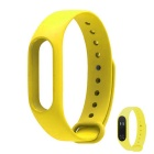 Replacement TPU Wrist Band for Xiaomi MI Band 2 - Yellow