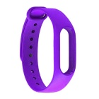Replacement TPU Wrist Band for Xiaomi MI Band 2 - Purple