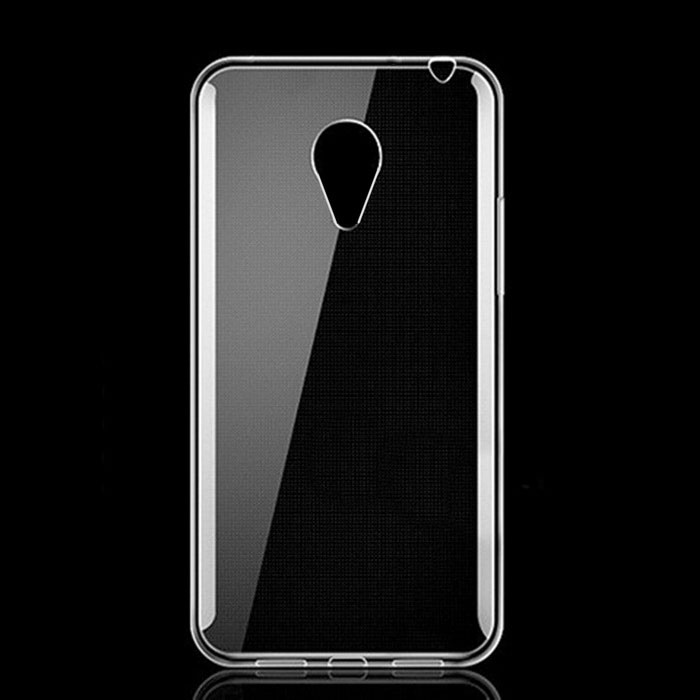 Ultrathin TPU Back Cases Cover for Meizu M3 - Transparent