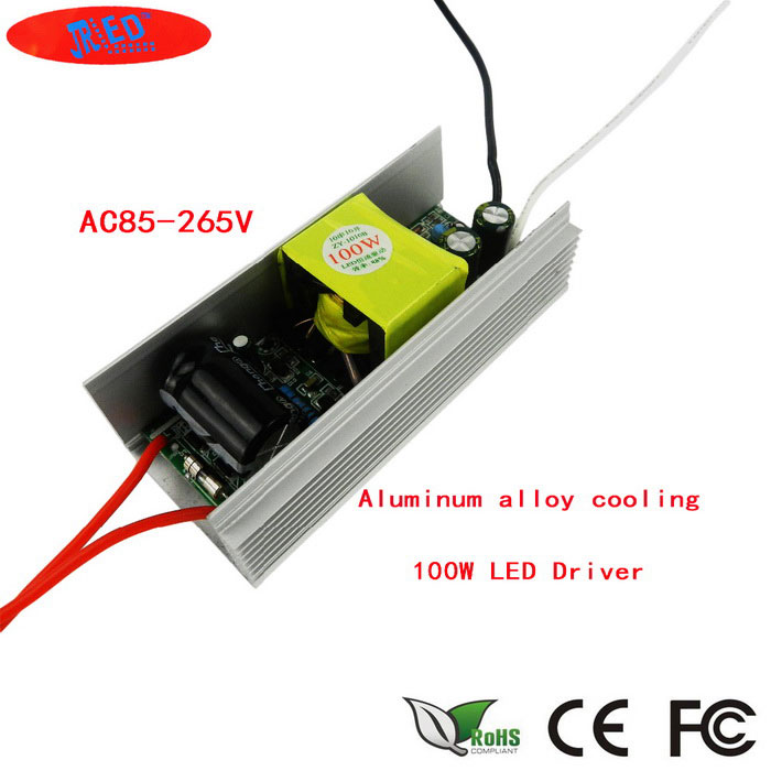 100W LED Driver AC 85-265V Input / DC 30-36V 3000mA OutputLED Power Drivers<br>ModelN/AMaterialAluminum alloy + electronic componentsForm ColorSilver + Beige + Multi-ColoredQuantity1 pieceWater-proofNoInput Voltage85-265 VOutput Voltage30-36 VWorking Temperature-30-70 ?Output Current3000 mAInput Current500 mARated Working Voltage85-265 VWorking Current3000 mADimmerONCertificationCE ROHSOther FeaturesThis product is a special integrated LED lamp driverPacking List1*100W LED Driver<br>