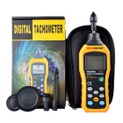 PEAKMETER MS6208A Contact Digital Tachometer - Orange + Black