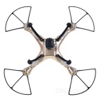SYMA X8HW 6-kanals RC drone quadcopter med 0.3MP HD kamera - golden