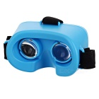 KICCY Mini Polarized Virtual Reality Glasses m / Fjernkontroll - Blå