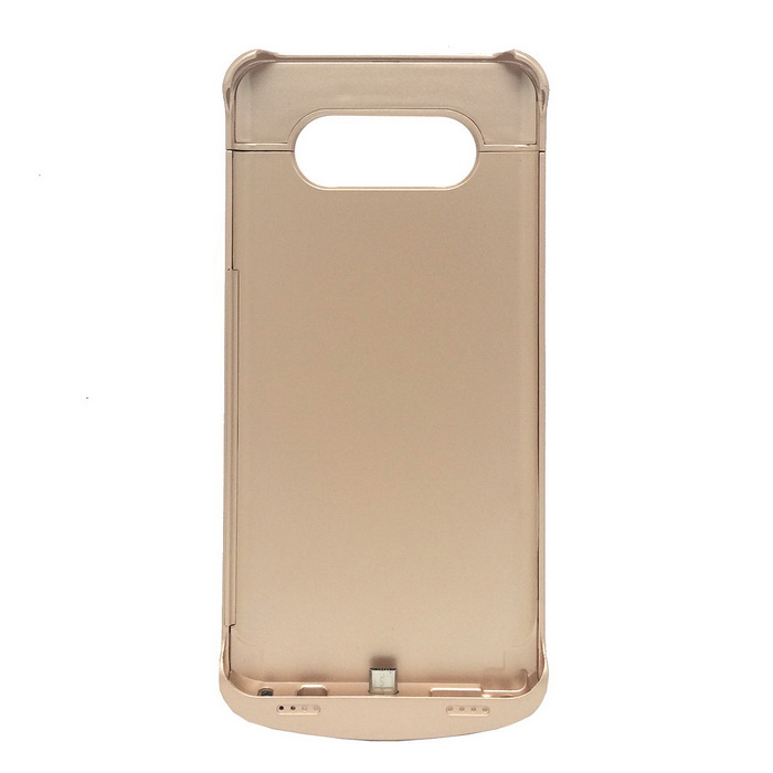 4200mAh Li-Polymer Battery Back Case for Samsung NOTE 5 - Gold