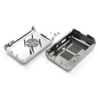 Protective ABS Case Shell for Raspberry Pi 3 Model B - Silver