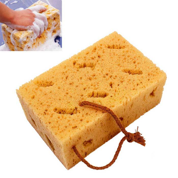 ZIQIAO Auto Care Car Wash Sponges Block for Car Washer & Cleaning