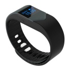 "M3S 0,49 ""Smart aptidão Heart Rate Rastreador Bracelet - Preto + Cinza"