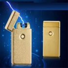 MAIKOU Double Arc USB Charging Lighter - Gold