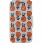 SZKINSTON Pineapple Pattern PU Case for HUAWEI P8 - Red + White
