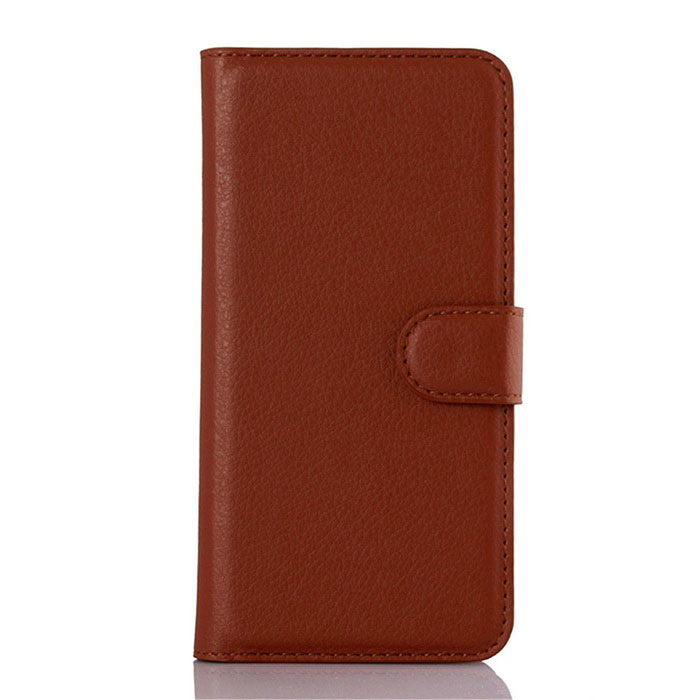 Lichee Pattern Protective Case for  ASUS Zenfone 5 - Reddish Brown
