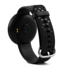 "0.66 ""Pulseira inteligente ET01 w / Heart Rate Monitor, Call Reminder - Black"