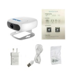 Escam Shell QN01 Wi-Fi Mini Household IP Camera - White (AU Plug)