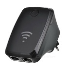 Mini repetidor Wi-Fi Router - Negro