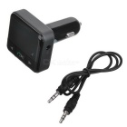 Smart Car Bluetooth Transmissor FM Dual USB isqueiro - Preto