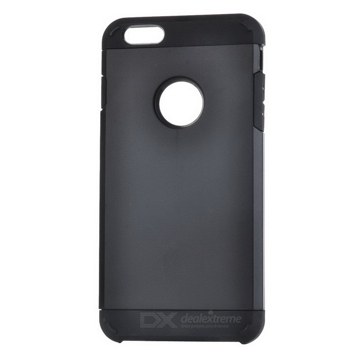 Protective Silicone + PC Back Case for IPHONE 6 PLUS / 6S PLUS - Black