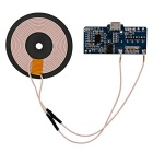 Buy DIY Lengthen Qi Standard 5V Wireless Charging Module- Blue + Black