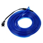 Jiawen 2m Flexible Car Decorative Neon Light w/ 2.3mm EL Wire - Blue