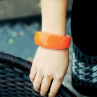 Dolphins Style LED Bracelet Watch - Orange + White (1 * CR1130)