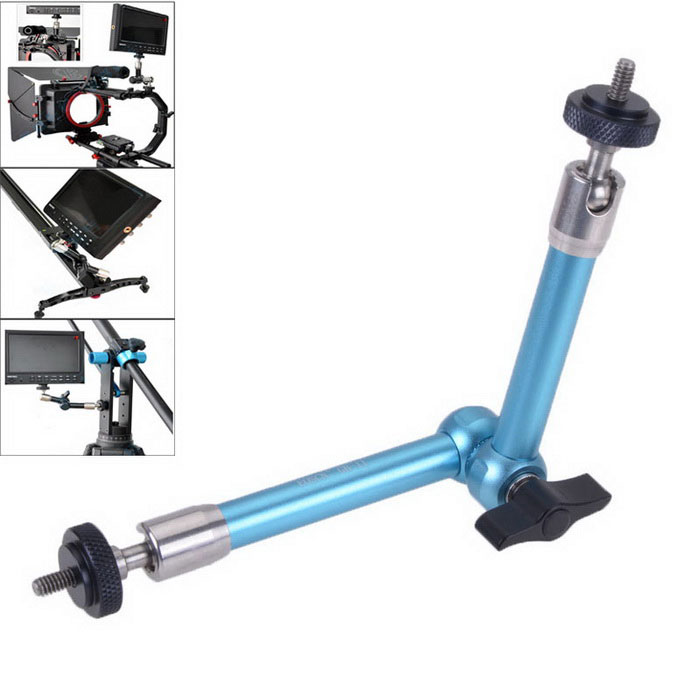 EOSCN 11 inch Articulating Magic Arm for Camera / LCD Monitor - Blue