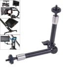 EOSCN 11 inch Magic Arm for Camera / LCD Monitor - Black + Silver