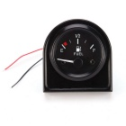 DC 12V E-1/2-F Pointer Car Fuel Level Gauge Meter w/ Fuel Sensor