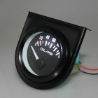"IZTOSS 1.65"" 52mm 12V  White LED Car Oil Pressure Gauge (0~100 PSI)"