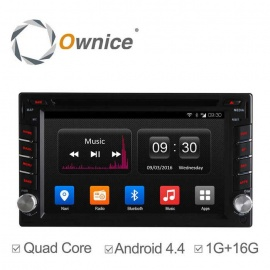 """Ownice C300 6.2"""" Android 4.4 Quad-Core Universal 2 Din Car DVD Player"""