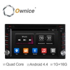 "Ownice C300 6.2 ""Android 4.4 Quad-Core Universal-2 Lärm-Auto-DVD-Player"
