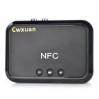 Cwxuan Bluetooth áudio do receptor Amplificador Box Adapter - Black