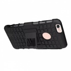 2-in-1 Tire Pattern TPU + PC Full Body Case for IPHONE 6S / 6 - Black