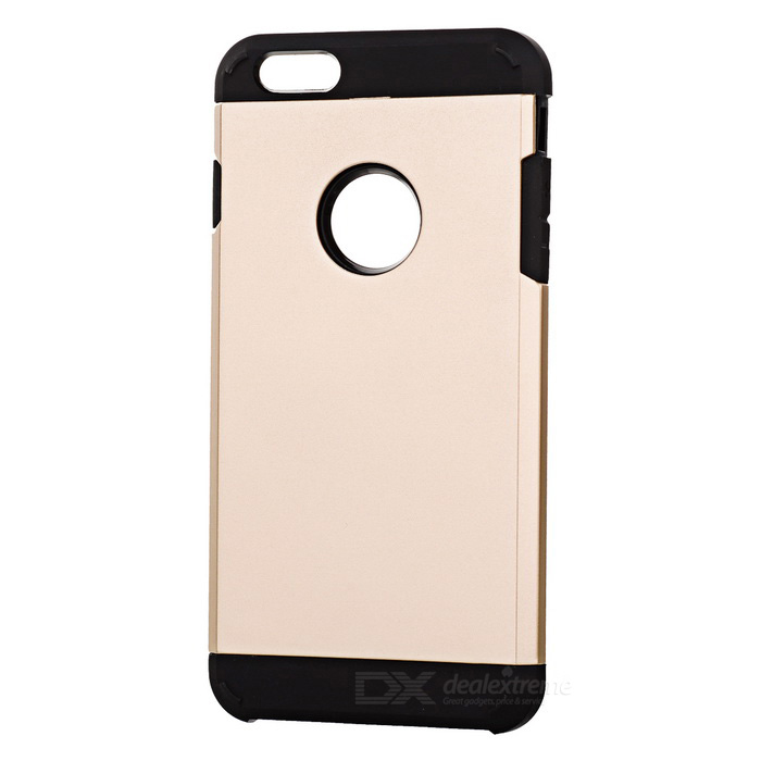 Protective Silicone + PC Back Case for IPHONE 6 PLUS / 6S PLUS - Gold
