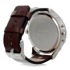 CAGARNY 6820 Fashion Stainless Steel Case Quartz Analog Wrist Watch