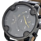 CAGARNY 6819 Fashion Stainless Steel Case Quartz Analog Wrist Watch
