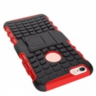 2-in-1 Tire Pattern TPU + PC Full Body Case for IPHONE 6S / 6 - Red