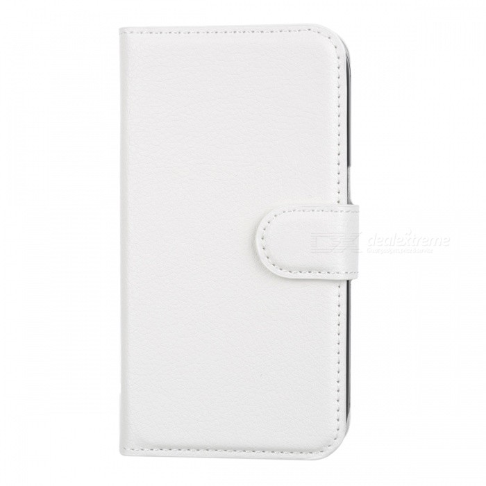 PU Leather Stand Case for Samsung Galaxy Core Prime G3608 - White