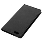 Lychee Pattern Protective PU Full Body Case for IPHONE 6 / 6S - Black