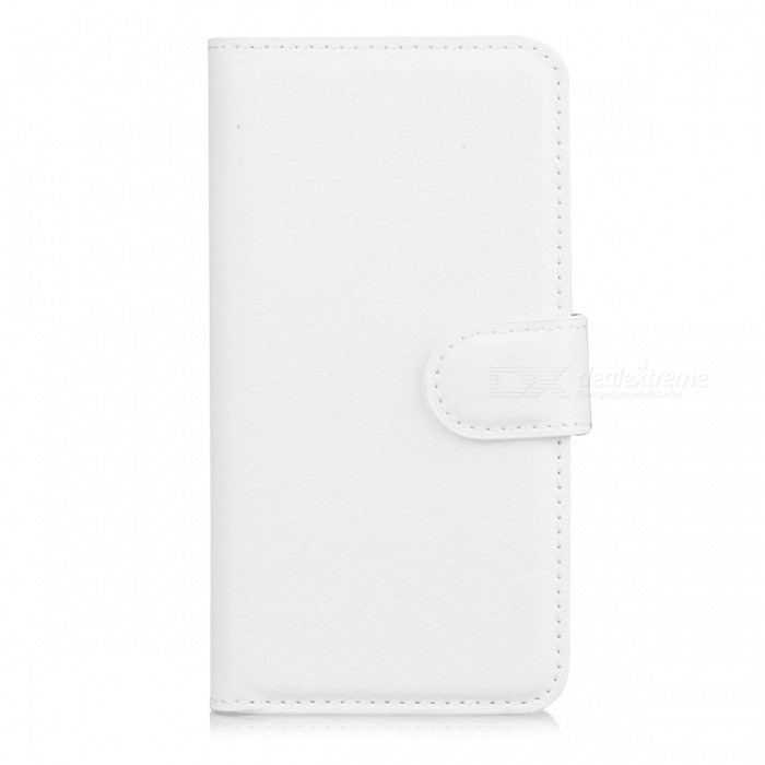 Lychee Pattern Protective PU Case for Sony Xperia Z1 Mini - White