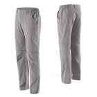 NatureHike Men's Two-Section Detachable Pants - Light Grey (L)