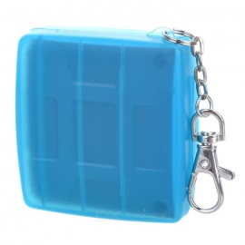 JJC MC-6B Camera Memory Flash SD + CF Card Storage Case - Light Blue