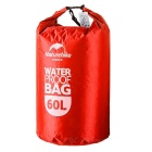 NatureHike Drifting Waterproof Bag w/ Visual Window - Red (60L)