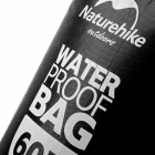 NatureHike Drifting Vedenpitävä Laukku w / Visual Window - Musta (60L)