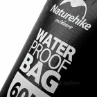 NatureHike Drifting Waterproof Bag w/ Visual Window - Black (5L)