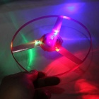 Luminescence Hand Push UFO Toy - Random Color